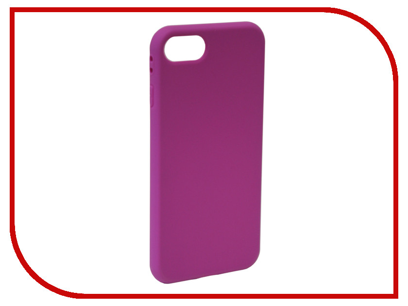 Аксессуар Чехол Neypo Silicone Soft Matte для APPLE iPhone 8/7 Purple NST4587 mooncase s line soft flexible silicone gel tpu skin shell back чехол для htc one m9 blue