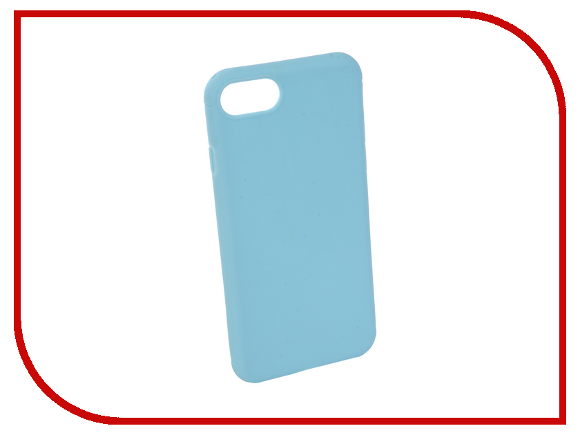 Аксессуар Чехол Neypo Silicone Soft Matte для APPLE iPhone 8/7 Light Blue NST4588 kinston water rose pattern protective matte plastic hard back case for iphone 4 4s blue