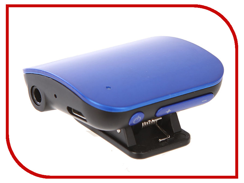 Bluetooth передатчик Quantoom AUX UNI Blue