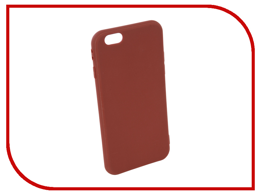 Аксессуар Чехол Neypo Silicone Soft Matte для APPLE iPhone 6/6S Brown NST4586 mooncase s line soft flexible silicone gel tpu skin shell back чехол для htc one m9 blue