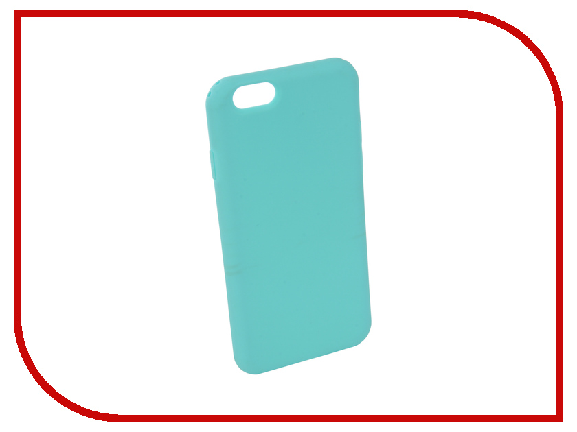 Аксессуар Чехол Neypo Silicone Soft Matte для APPLE iPhone 6/6S Turquoise NST3806 mooncase s line soft flexible silicone gel tpu skin shell back чехол для htc one m9 blue
