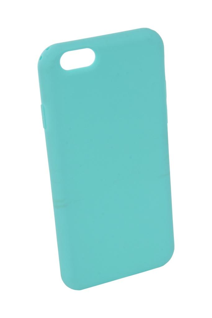 Аксессуар Чехол Neypo для APPLE iPhone 6 / 6S Silicone Soft Matte Turquoise NST3806 аксессуар чехол для nokia 6 2018 neypo soft matte silicone black nst4301