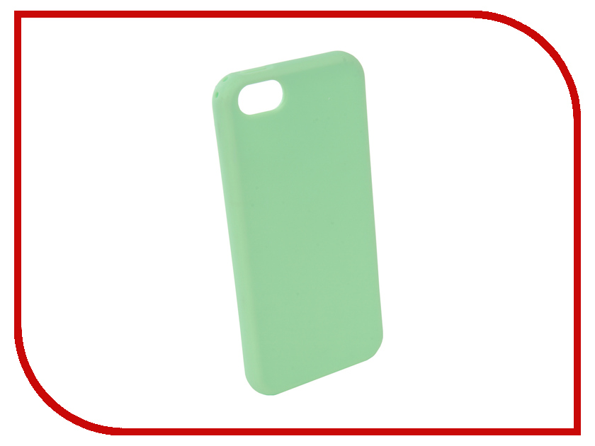 Аксессуар Чехол Neypo Silicone Soft Matte для APPLE iPhone 5/5S/SE Light Green NST4383 cgig q3 universal 5200mah power bank for iphone 6 5s samsung w led torch light green