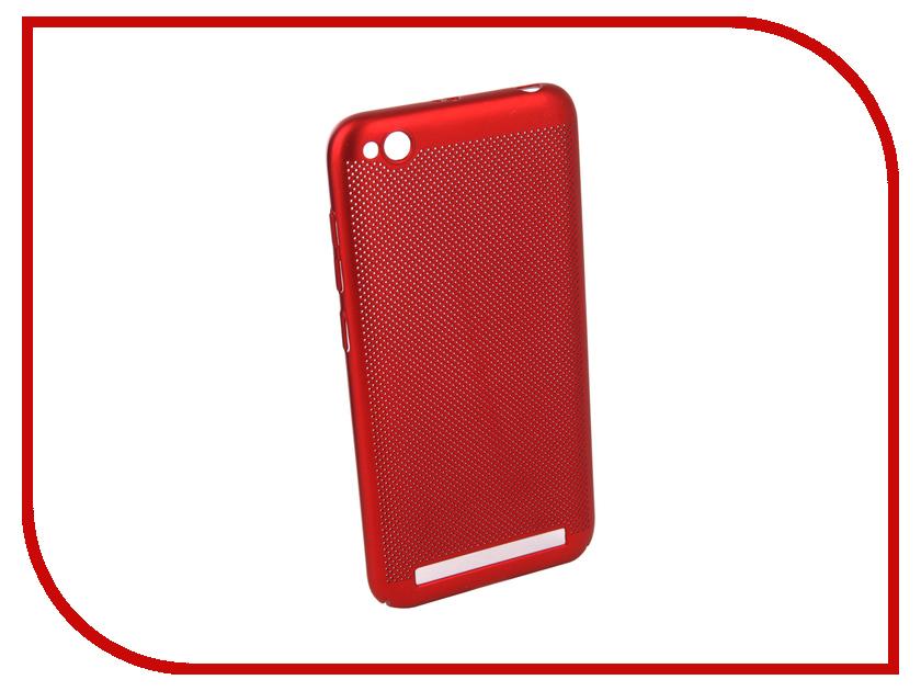 Аксессуар Чехол для Xiaomi Redmi 5A Neypo Soft Touch с перфорацией Red ST4569 аксессуар чехол для xiaomi mi a1 neypo soft touch black st3324