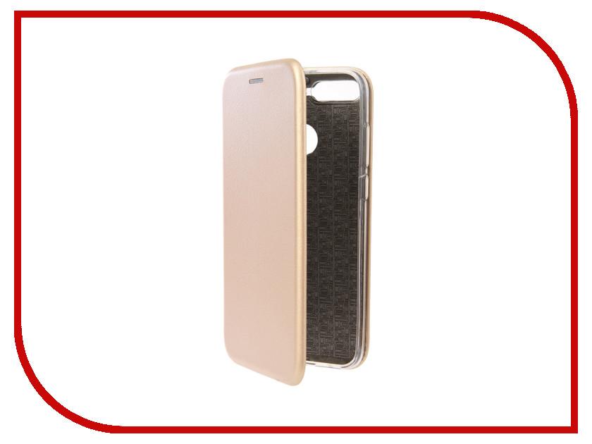 Аксессуар Чехол для Huawei Honor 7A Pro Neypo Premium Gold NSB4415 аксессуар чехол huawei honor 7 aksberry gold