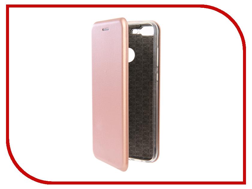 Аксессуар Чехол для Huawei Honor 9 Lite Neypo Premium Pink-Gold NSB4601