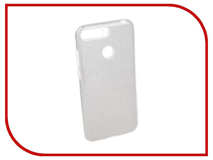 Аксессуар Чехол для Huawei Y6 Prime 2018 Neypo Brilliant Silicone Silver Crystals NBRL4514 цена