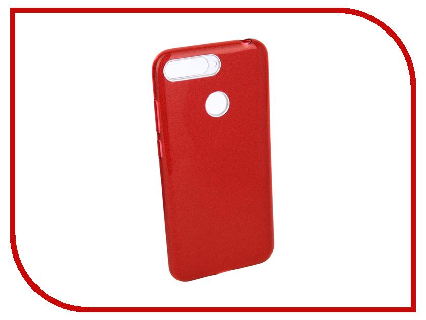 Аксессуар Чехол для Huawei Y6 Prime 2018 Neypo Brilliant Silicone Red Crystals NBRL4513 аксессуар чехол для huawei p20 pro neypo brilliant silicone turquoise crystals nbrl4561
