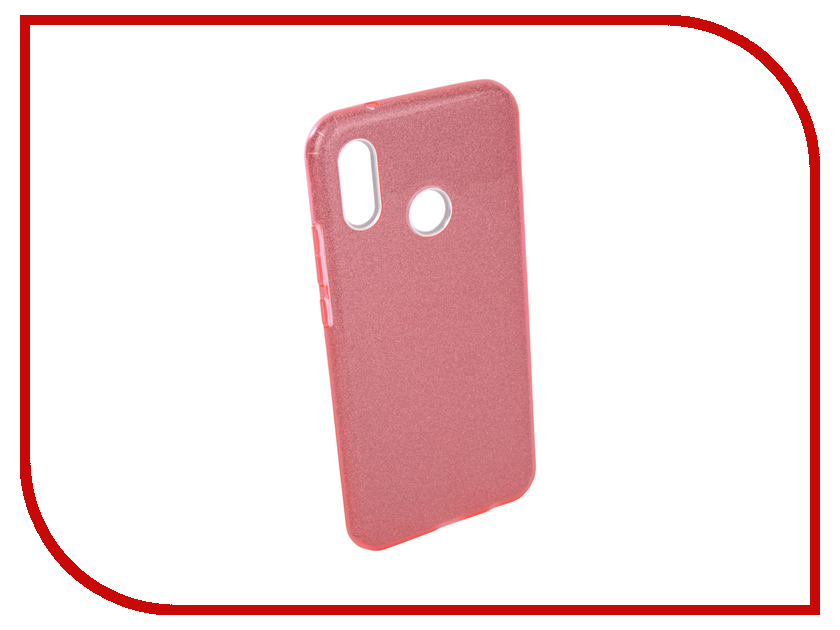 Аксессуар Чехол для Huawei P20 Lite Neypo Brilliant Silicone Pink Crystals NBRL4497