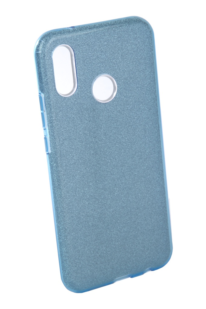 Аксессуар Чехол Neypo для Huawei P20 Lite Brilliant Silicone Light Blue Crystals NBRL4496