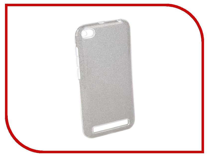Аксессуар Чехол для Xiaomi Redmi 5A Neypo Brilliant Silicone Silver Crystals NBRL4049 аксессуар чехол alcatel onetouch pixi 3 4013d fc4013 silver g4013 3salfcg