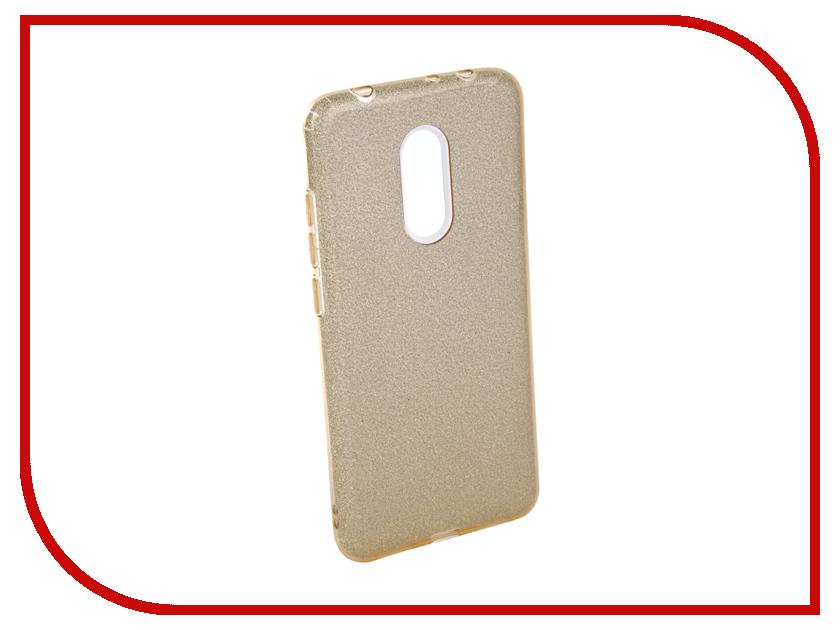 Аксессуар Чехол для Xiaomi Redmi 5 Neypo Brilliant Silicone Gold Crystals NBRL4030 каталог montblanc