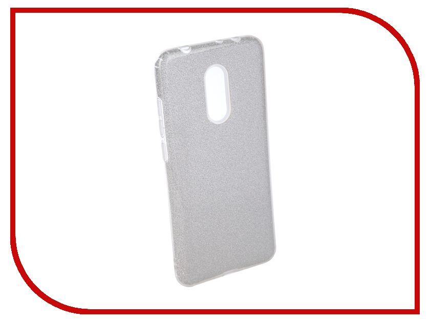 Аксессуар Чехол для Xiaomi Redmi 5 Neypo Brilliant Silicone Silver Crystals NBRL4033 аксессуар чехол alcatel onetouch pixi 3 4013d fc4013 silver g4013 3salfcg
