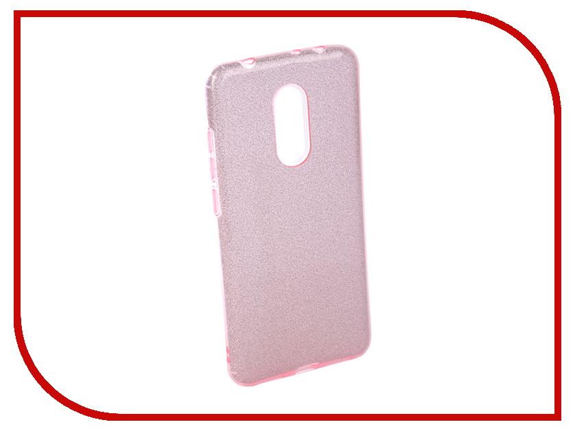 Аксессуар Чехол для Xiaomi Redmi 5 Neypo Brilliant Silicone Purple Crystals NBRL4034 mooncase чехол для iphone 6 plus 5 5 pu leather flip wallet card slot stand back cover purple
