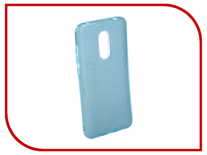 Аксессуар Чехол для Xiaomi Redmi 5 Plus Neypo Brilliant Silicone Light-Blue Crystals NBRL4037 аксессуар чехол iphone 6 plus 5 5 inch aksberry blue