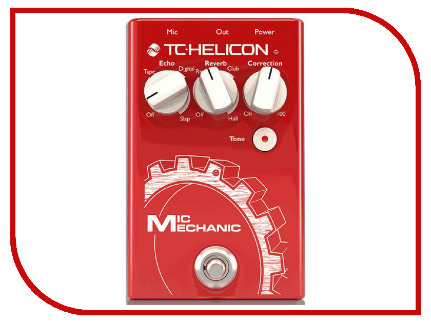 Педаль TC Helicon Voicetone Mic Mechanic II насадка mechanic slider 90