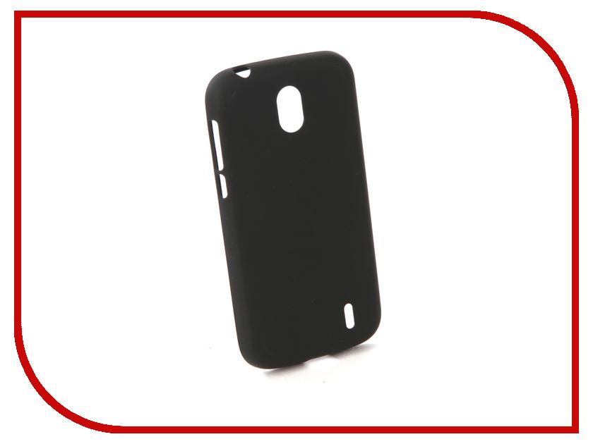 Аксессуар Чехол для Nokia 1 Neypo Silicone Soft Matte Black NST4210 mooncase s line soft flexible silicone gel tpu skin shell back чехолдля htc one m9 blue