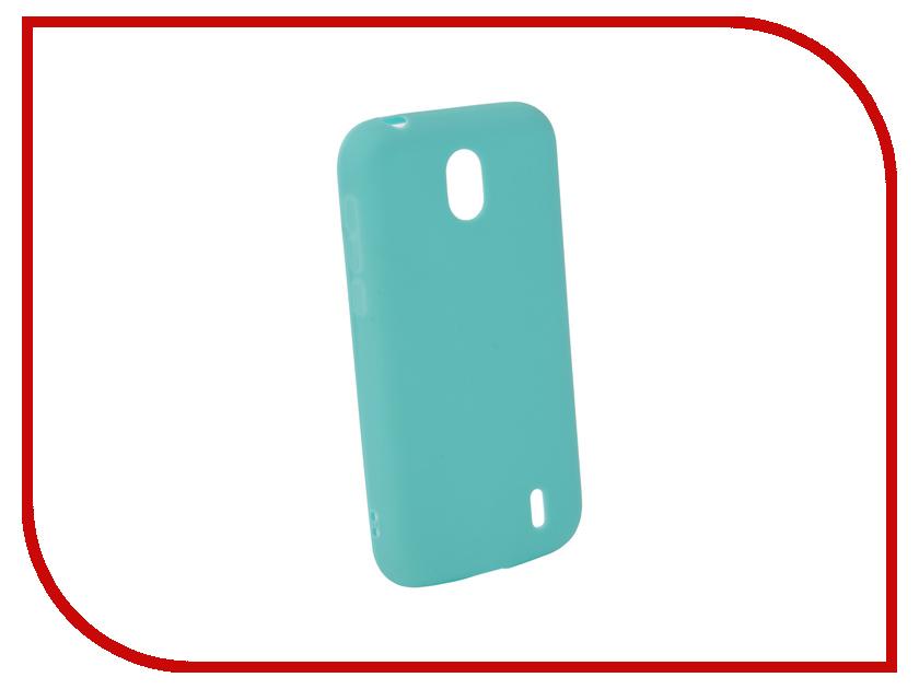 Аксессуар Чехол для Nokia 1 Neypo Silicone Soft Matte Turquoise NST4311 аксессуар чехол для samsung galaxy a5 2017 neypo soft matte silicone black nst0214