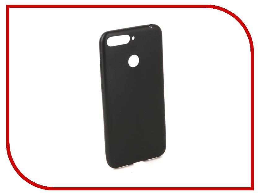 Аксессуар Чехол для Huawei Y6 Prime 2018 Neypo Silicone Soft Matte Black NST4448