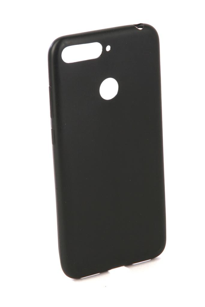 Аксессуар Чехол Neypo для Huawei Y6 Prime 2018 Silicone Soft Matte Black NST4448 аксессуар чехол для nokia 6 2018 neypo soft matte silicone black nst4301