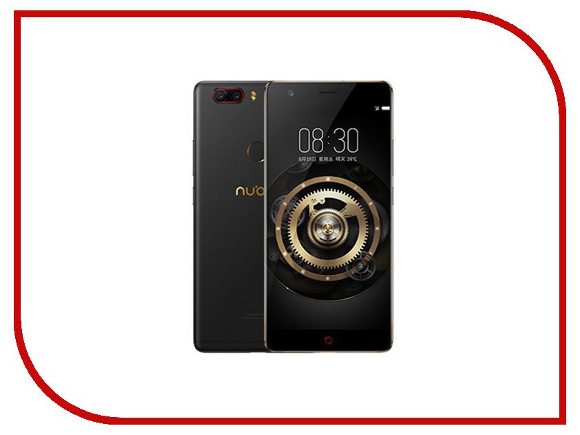 Сотовый телефон ZTE Nubia Z17 Lite 64Gb RAM 6Gb Black-Gold сотовый телефон bq aquaris u2 lite 2gb ram 16gb carbon black