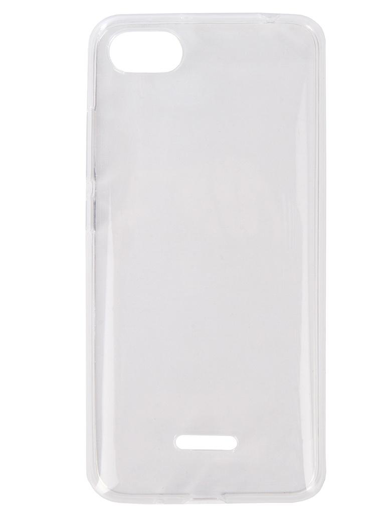 Аксессуар Чехол Zibelino для Xiaomi Redmi 6A Ultra Thin Case White ZUTC-XMI-RDM-6A-WHT аксессуар чехол zibelino для motorola moto g6 ultra thin case white zutc motr mot g6 wht