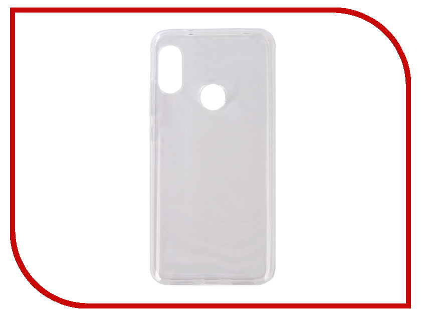 Аксессуар Чехол для Xiaomi Mi A2 Lite / Redmi 6 Pro Zibelino Ultra Thin Case White ZUTC-XMI-RDM-6-PRO-WHT ikki ultra thin protective 0 2mm pp back case for iphone 6 4 7 translucent white