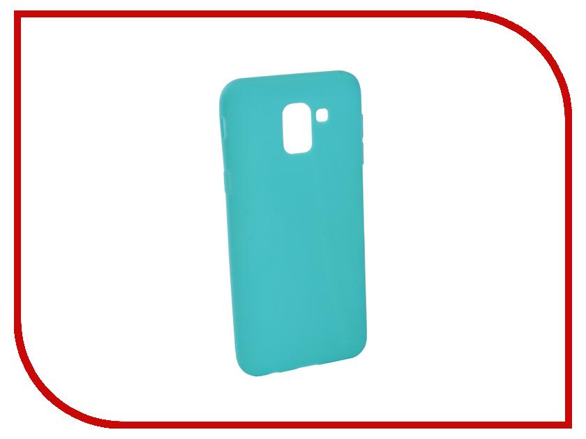 Аксессуар Чехол для Samsung Galaxy J6 2018 J600F Zibelino Soft Matte Turquoise ZSM-SAM-J600F-TQS аксессуар чехол для samsung j6 2018 j600f zibelino ultra thin case white zutc sam j600f wh
