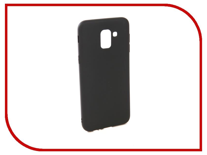 Аксессуар Чехол для Samsung Galaxy J6 2018 J600F Zibelino Soft Matte Black ZSM-SAM-J600F-BLK