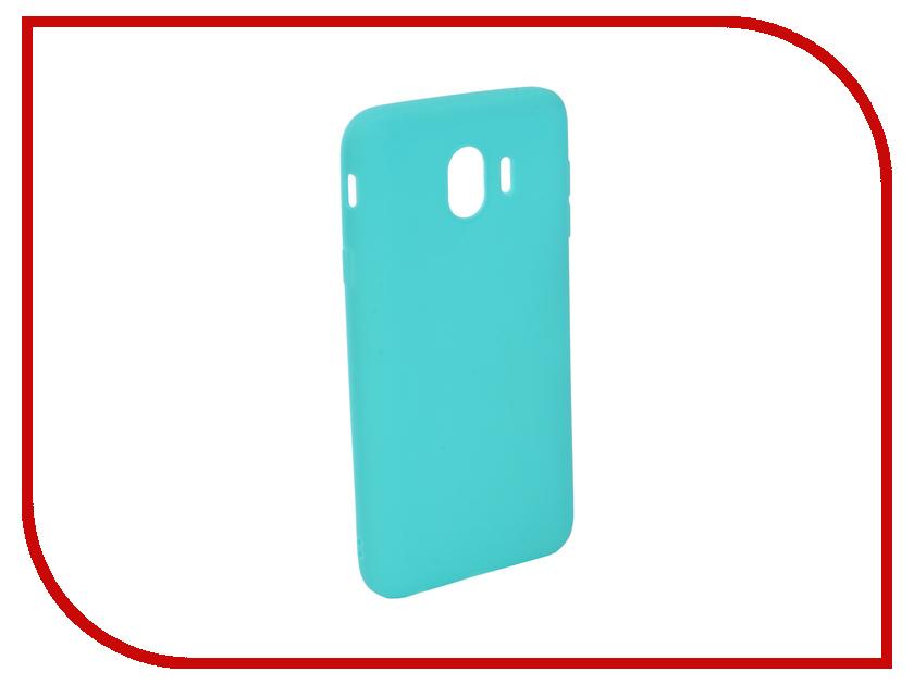 Аксессуар Чехол для Samsung Galaxy J4 2018 J400F Zibelino Soft Matte Turquoise ZSM-SAM-J400F-TQS