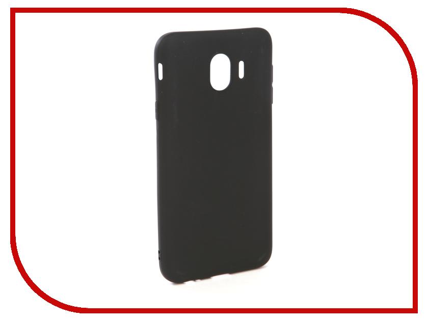 Аксессуар Чехол для Samsung Galaxy J4 2018 J400F Zibelino Soft Matte Black ZSM-SAM-J400F-BLK аксессуар чехол samsung j3 2017 j330f zibelino clear view black zcv sam j330 blk
