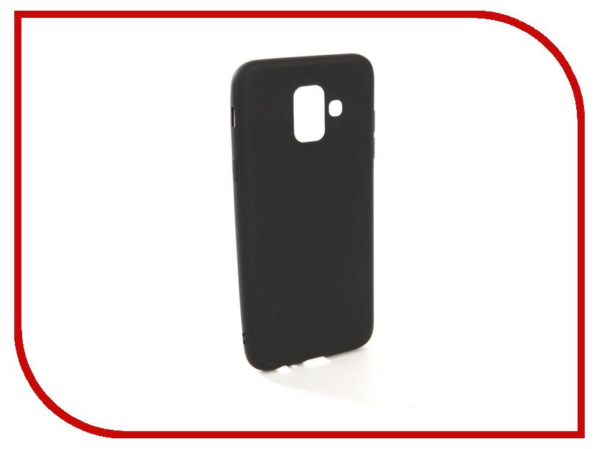 Аксессуар Чехол для Samsung Galaxy A6 2018 A600FN Zibelino Soft Matte Black ZSM-SAM-A600FN-BLK аксессуар чехол samsung j3 2017 j330f zibelino clear view black zcv sam j330 blk