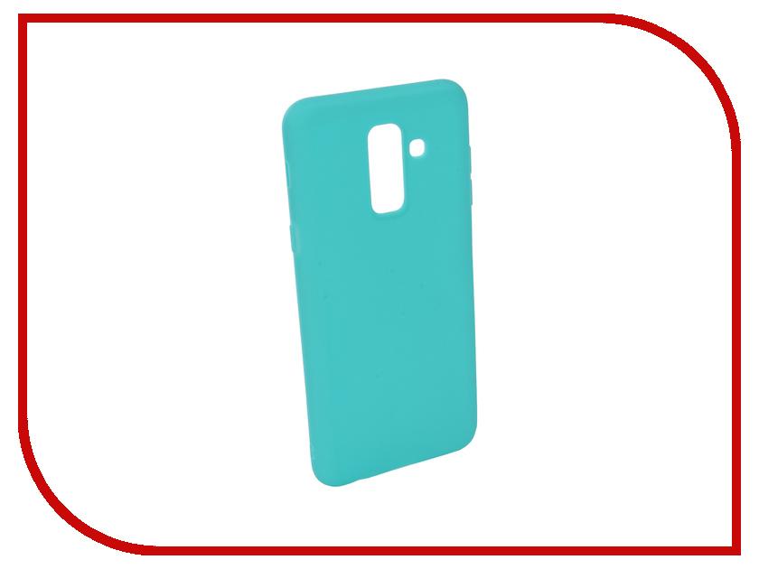 Аксессуар Чехол для Samsung Galaxy A6 Plus 2018 A605G Zibelino Soft Matte Turquoise ZSM-SAM-A605G-TQS