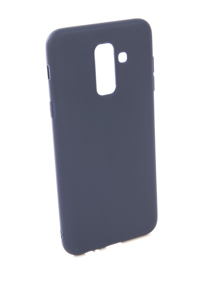 Чехол для Samsung Galaxy A6 Plus 2018 A605G Zibelino Soft Matte Blue ZSM-SAM-A605G-BLU аксессуар защитное стекло для samsung a605g galaxy a6 plus 2018 zibelino tg full screen black ztg fs sam a605g blk
