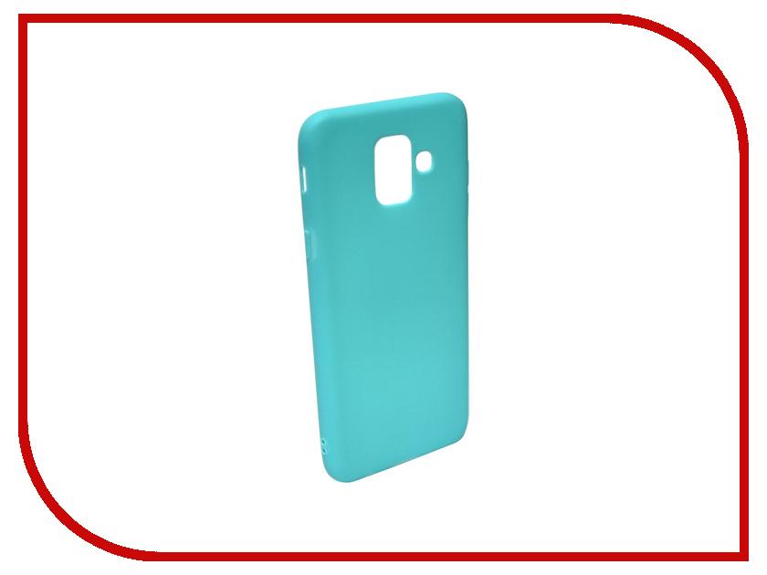 Аксессуар Чехол для Samsung Galaxy A6 2018 A600FN Zibelino Soft Matte Turquoise ZSM-SAM-A600FN-TQS аксессуар чехол для samsung a6 2018 a600fn zibelino ultra thin case white zutc sam a600fn wht