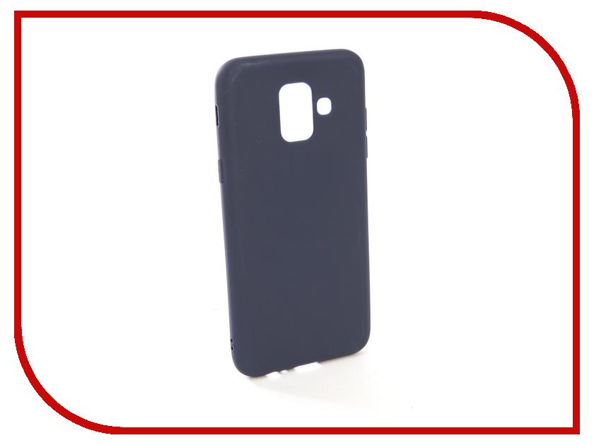 Аксессуар Чехол для Samsung Galaxy A6 2018 A600FN Zibelino Soft Matte Blue ZSM-SAM-A600FN-BLU