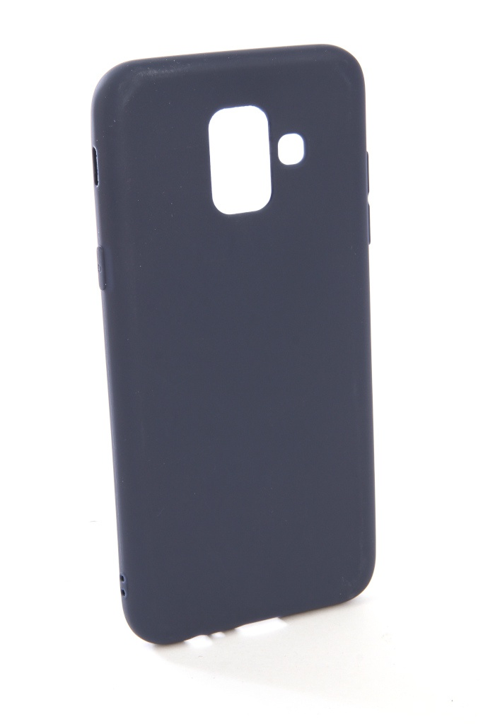 Аксессуар Чехол Zibelino для Samsung Galaxy A6 2018 A600FN Soft Matte Blue ZSM-SAM-A600FN-BLU аксессуар чехол samsung galaxy a5 2017 zibelino classico blue zcl sam a5 2017 blu