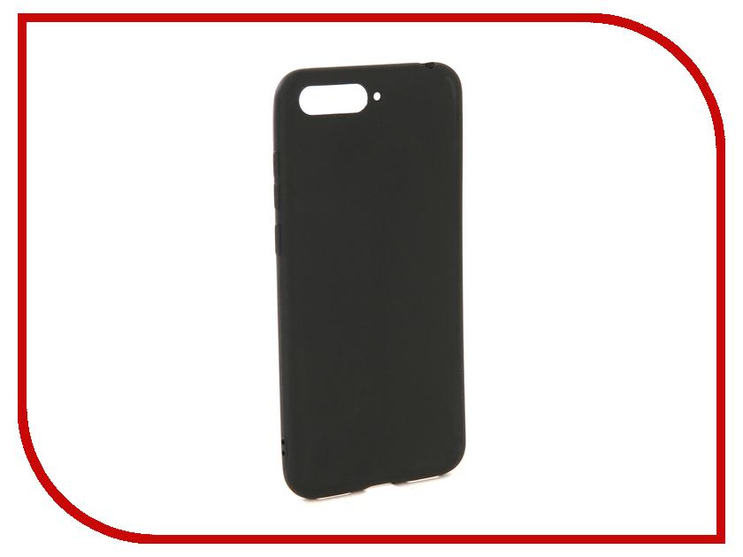 Аксессуар Чехол для Huawei Y6 2018 Zibelino Soft Matte Black ZSM-HUA-Y6-2018-BLK doogee y6 2gb 16gb smartphone matte black