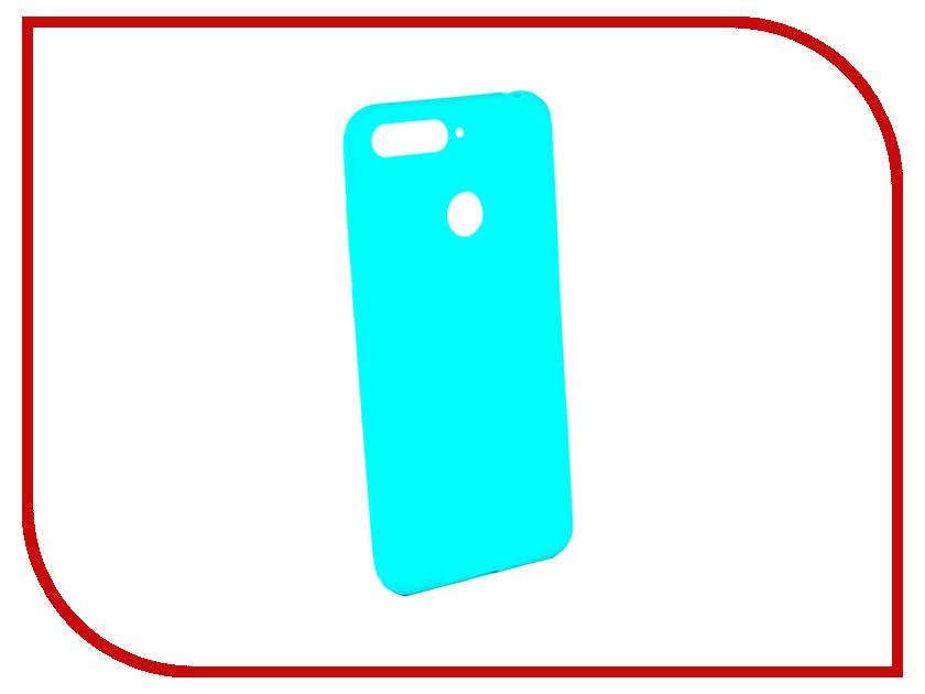 Аксессуар Чехол для Huawei Honor 7A Pro / Honor 7C / Y6 Prime 2018 Zibelino Soft Matte Turquoise ZSM-HUA-7A-PRO-TQS аксессуар чехол для samsung galaxy j4 2018 j400f zibelino soft matte turquoise zsm sam j400f tqs