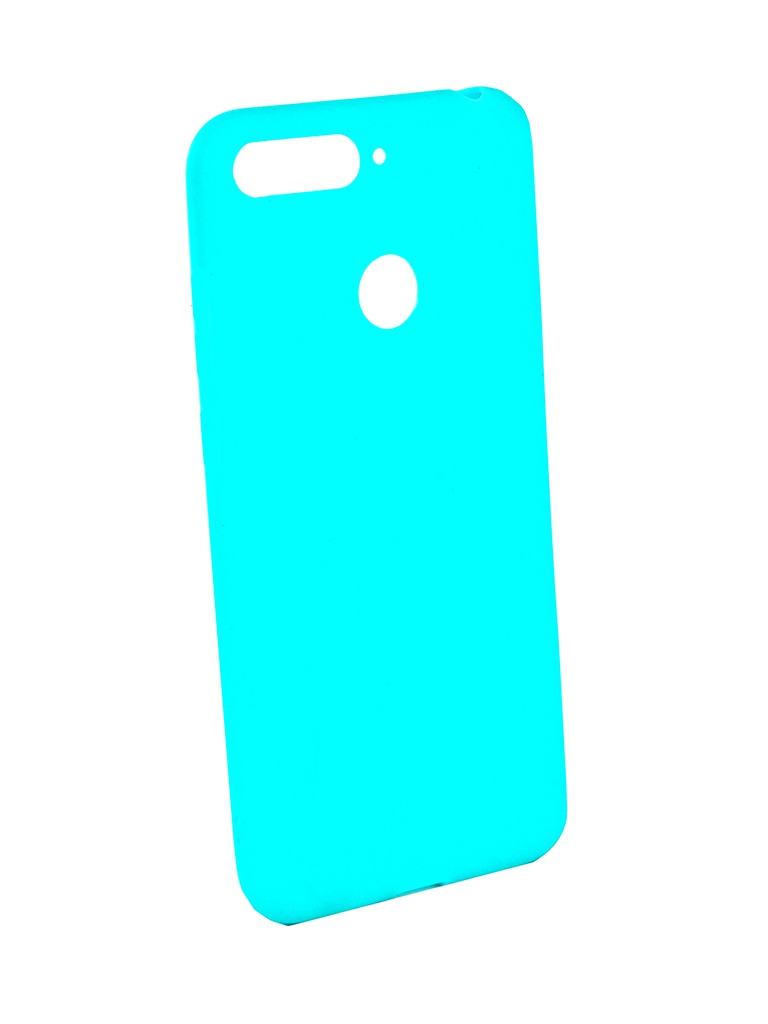 Аксессуар Чехол Zibelino для Honor 7A Pro / Honor 7C / Y6 Prime 2018 Soft Matte Turquoise ZSM-HUA-7A-PRO-TQS аксессуар чехол zibelino для honor 8c 2018 soft matte dark blue zsm hua 8c dbl