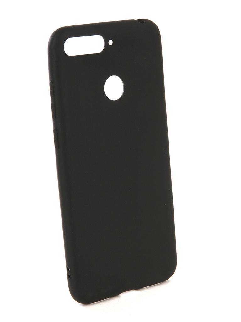 Аксессуар Чехол Zibelino для Honor 7A Pro / Honor 7C / Y6 Prime 2018 Soft Matte Black ZSM-HUA-7A-PRO-BLK аксессуар чехол для sony xz2 compact zibelino soft matte black zsm son xz2 cmp blk