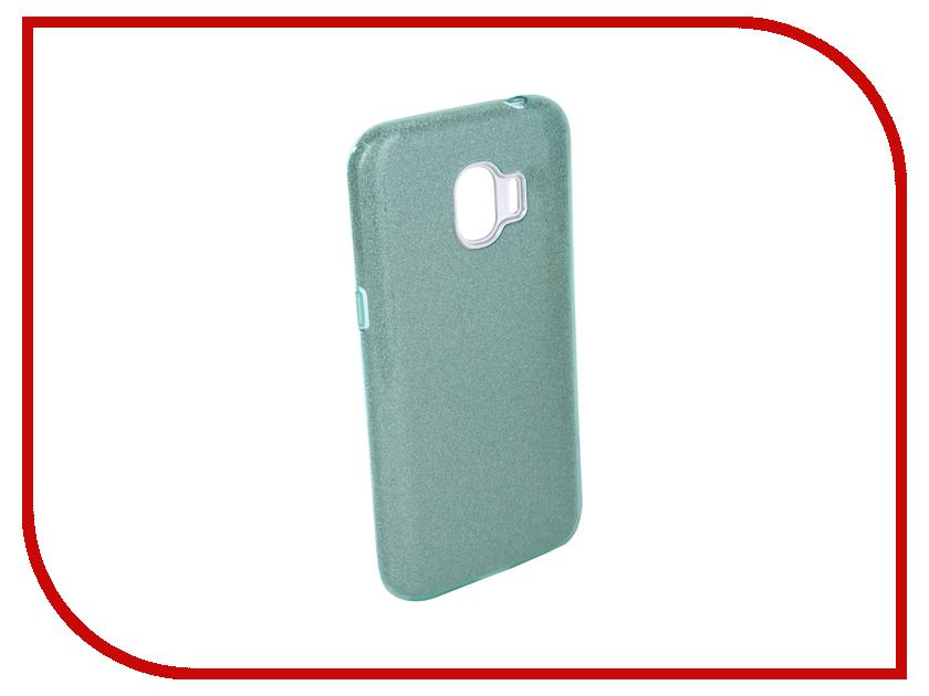 Аксессуар Чехол для Samsung Galaxy J2 2018 Neypo Brilliant Silicone Turquoise Crystals NBRL4005 аксессуар чехол для samsung galaxy j2 2018 neypo soft matte silicone turquoise nst3860