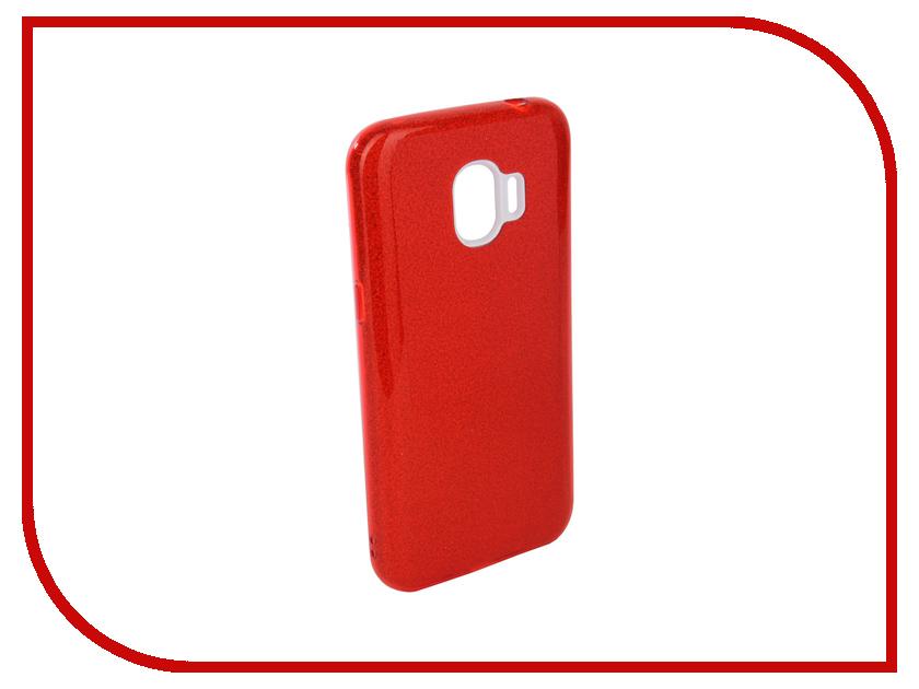 Аксессуар Чехол для Samsung Galaxy J2 2018 Neypo Brilliant Silicone Red Crystals NBRL4009 аксессуар чехол для samsung galaxy j2 2018 neypo soft matte silicone red nst3861