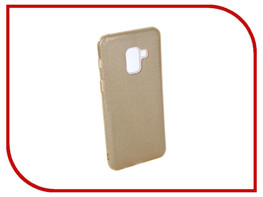 Аксессуар Чехол для Samsung Galaxy A8 2018 Neypo Brilliant Silicone Gold Crystals NBRL4014 аксессуар чехол для huawei p20 neypo brilliant silicone gold crystals nbrl4488