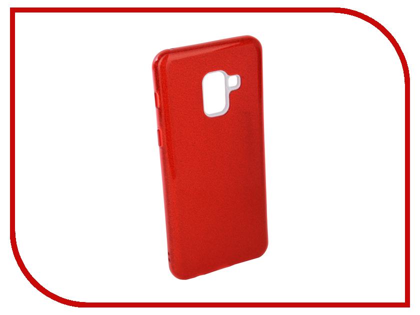 Аксессуар Чехол для Samsung Galaxy A8 2018 Neypo Brilliant Silicone Red Crystals NBRL4015 аксессуар чехол samsung galaxy a8 2018 neypo silicon neon black nstn3707