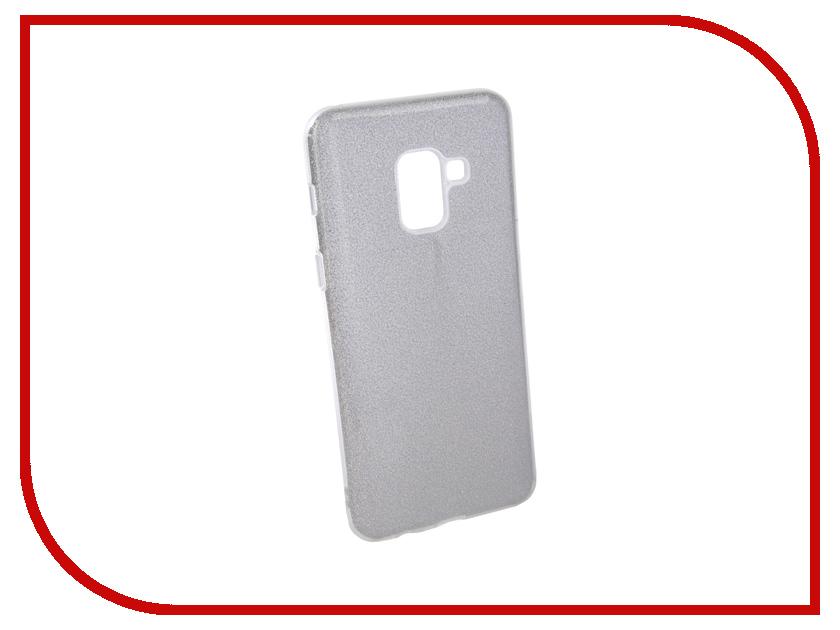Аксессуар Чехол для Samsung Galaxy A8 2018 Neypo Brilliant Silicone Silver Crystals NBRL4017 аксессуар чехол alcatel onetouch pixi 3 4013d fc4013 silver g4013 3salfcg