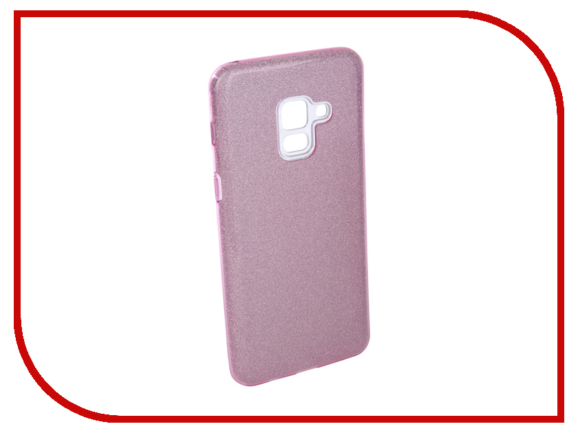 Аксессуар Чехол для Samsung Galaxy A8 2018 Neypo Brilliant Silicone Purple Crystals NBRL3711 mooncase slim leather side flip wallet card slot pouch with kickstand shell back чехол для samsung galaxy a3 purple
