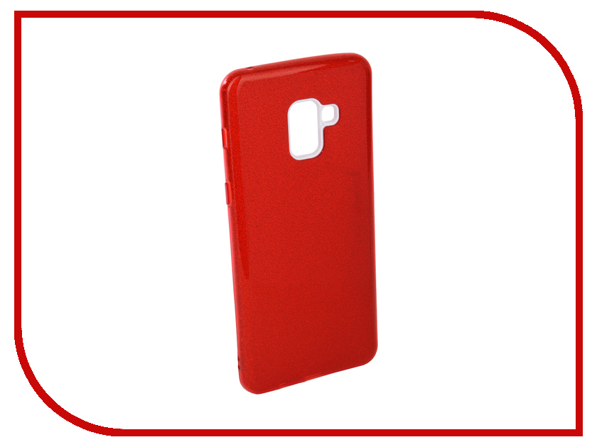 Аксессуар Чехол для Samsung Galaxy A8 Plus 2018 Neypo Brilliant Silicone Red Crystals NBRL4022 аксессуар чехол samsung galaxy a8 2018 neypo silicon neon black nstn3707