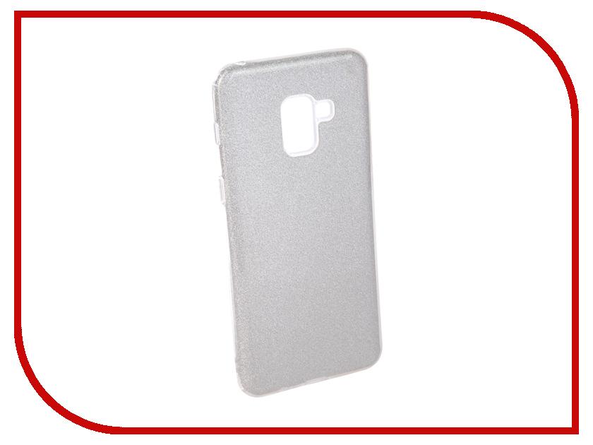 Аксессуар Чехол для Samsung Galaxy A8 Plus 2018 Neypo Brilliant Silicone Silver Crystals NBRL4024 аксессуар чехол samsung galaxy a8 2018 neypo silicon neon black nstn3707