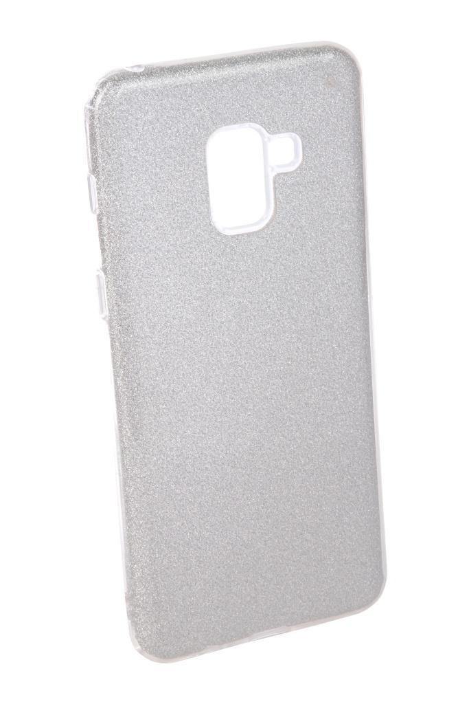 Аксессуар Чехол Neypo для Samsung Galaxy A8 Plus 2018 Brilliant Silicone Silver Crystals NBRL4024 аксессуар чехол для huawei p20 lite neypo brilliant silicone silver crystals nbrl4498